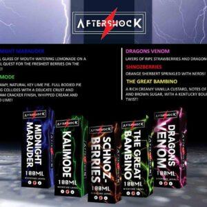 Aftershock E-Liquids